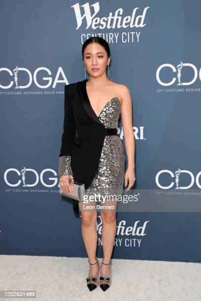 Constance Wu attends the 22nd CDGA at The Beverly Hilton Hotel on January 28, 2020 in Beverly Hills, California.