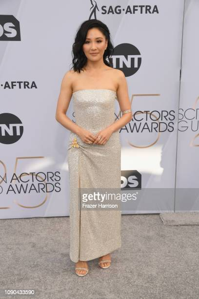 Constance Wu attends the 25th Annual Screen Actors Guild Awards at The Shrine Auditorium on January 27 2019 in Los Angeles California
