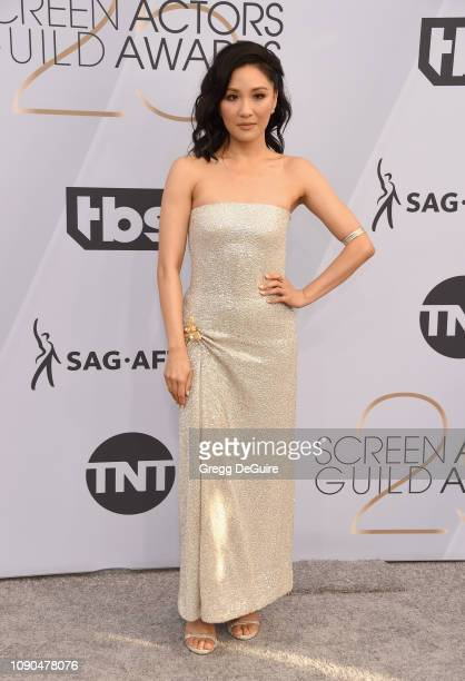 Constance Wu attends the 25th Annual Screen Actors Guild Awards at The Shrine Auditorium on January 27 2019 in Los Angeles California 480645