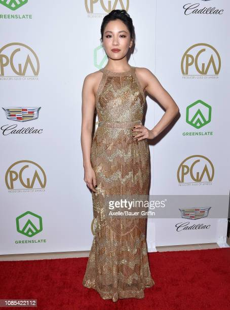 Constance Wu attends the 30th Annual Producers Guild Awards at The Beverly Hilton Hotel on January 19 2019 in Beverly Hills California