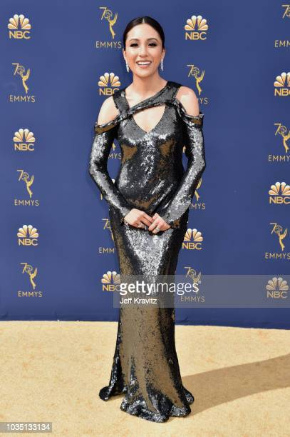 Constance Wu attends the 70th Emmy Awards at Microsoft Theater on September 17 2018 in Los Angeles California