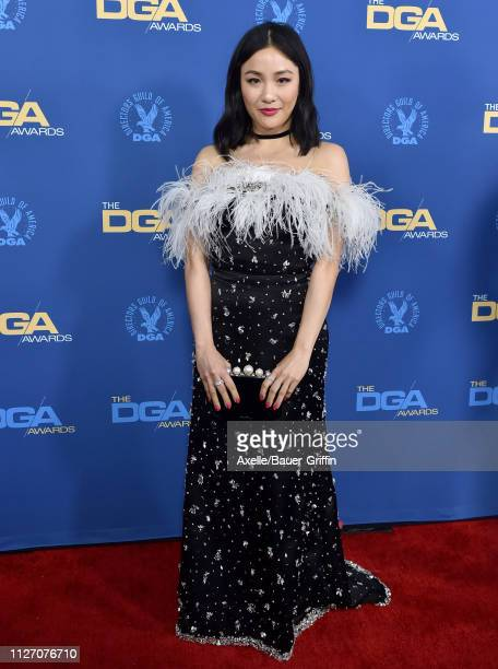 Constance Wu attends the 71st Annual Directors Guild of America Awards at The Ray Dolby Ballroom at Hollywood Highland Center on February 02 2019 in...