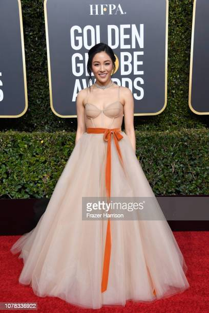 Constance Wu attends the 76th Annual Golden Globe Awards at The Beverly Hilton Hotel on January 6, 2019 in Beverly Hills, California.