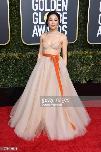 Constance Wu attends the 76th Annual Golden Globe Awards at The Beverly Hilton Hotel on January 6 2019 in Beverly Hills California