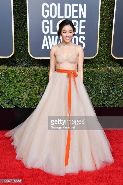 Constance Wu attends the 76th Annual Golden Globe Awards held at The Beverly Hilton Hotel on January 06 2019 in Beverly Hills California