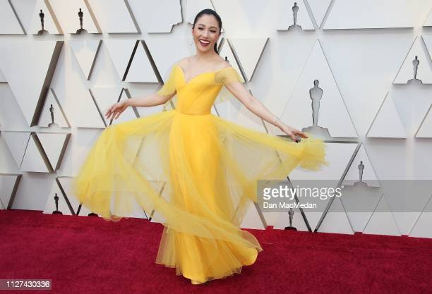 Constance Wu attends the 91st Annual Academy Awards at Hollywood and Highland on February 24 2019 in Hollywood California
