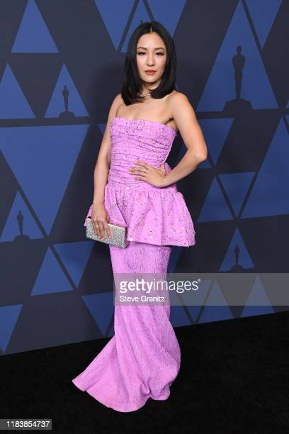 Constance Wu attends the Academy Of Motion Picture Arts And Sciences' 11th Annual Governors Awards at The Ray Dolby Ballroom at Hollywood & Highland...