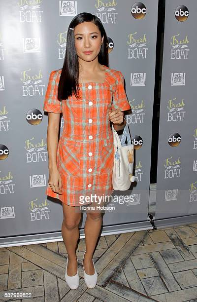 Constance Wu attends the Emmy FYC event for ABC's 'Fresh Off The Boat' at The London Hotel on June 3 2016 in West Hollywood California