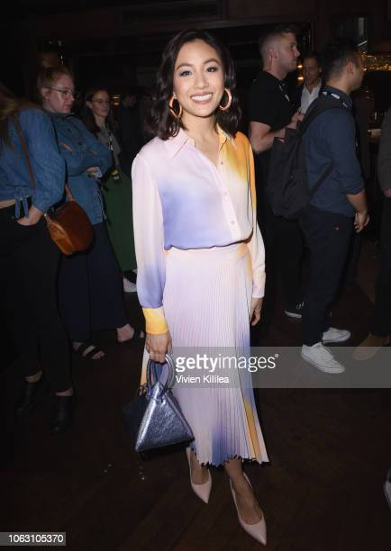 Constance Wu attends the Heineken Green Room during Vulture Festival presented by ATT at Hollywood Roosevelt Hotel on November 17 2018 in Hollywood...