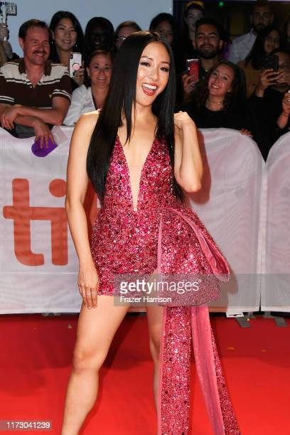 Constance Wu attends the Hustlers premiere during the 2019 Toronto International Film Festival at Roy Thomson Hall on September 07 2019 in Toronto...