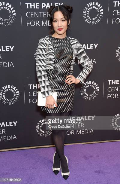Constance Wu attends The Paley Center Presents An Evening With Fresh Off The Boat at The Paley Center for Media on December 10 2018 in Beverly Hills...