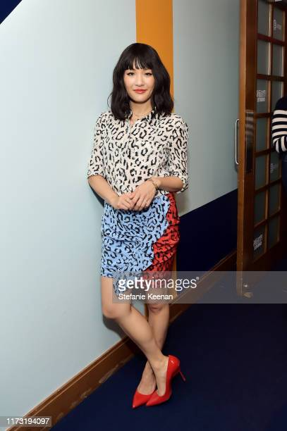 Constance Wu stops by ATT ON LOCATION during Toronto International Film Festival 2019 at Hotel Le Germain on September 08 2019 in Toronto Canada