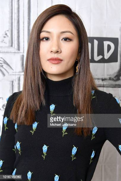 Constance Wu visits Build to discuss the movie Crazy Rich Asians at Build Studio on August 14 2018 in New York City