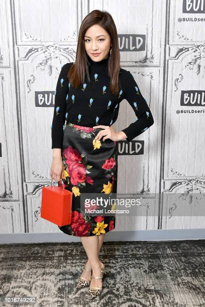 Constance Wu visits Build to discuss the movie 'Crazy Rich Asians' at Build Studio on August 14 2018 in New York City
