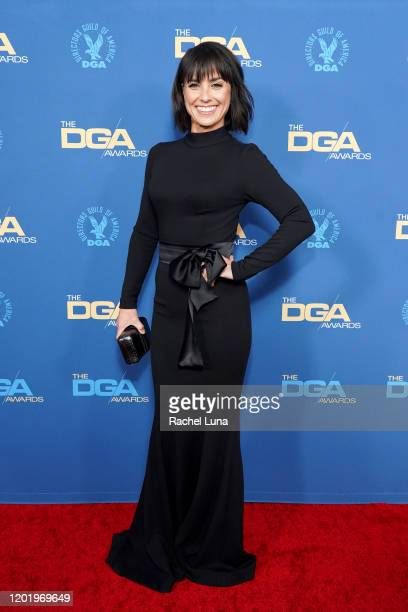 Constance Zimmer arrives for the 72nd Annual Directors Guild Of America Awards at The Ritz Carlton on January 25 2020 in Los Angeles California