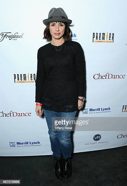 Constance Zimmer attends ChefDance 2015 presented by Victory Ranch and sponsored by Merrill Lynch, Freixenet, Anchor Distilling, and Premier Meat Co....