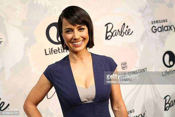 Constance Zimmer attends Variety's Power Of Women New York Brought To You by Barbie at Cipriani 42nd Street on April 24 2015 in New York City