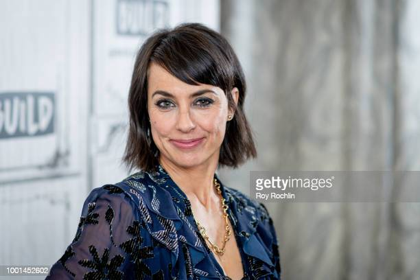 Constance Zimmer discusses 'UnREAL' with the Build series at Build Studio on July 18 2018 in New York City