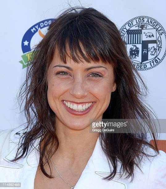 Constance Zimmer during 4th Annual Much Love Animal Rescue Bow Wow Ween at Barrington Dog Park in Brentwood California United States