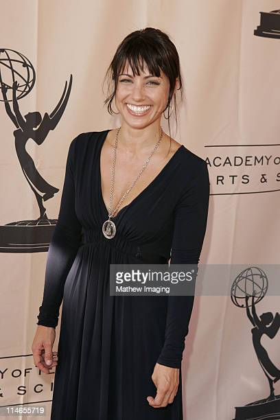 Constance Zimmer during 57th Annual Los Angeles Area Emmy Awards Arrivals Reception at Leonard H Goldenson Theatre in North Hollywood California...