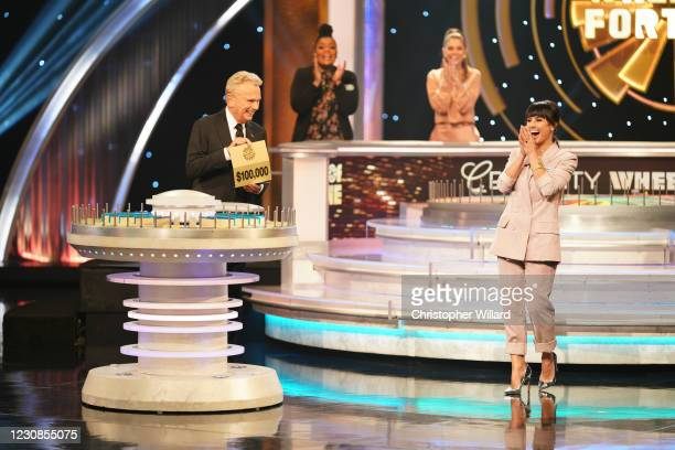 Constance Zimmer, Maria Menounos, and Yvette Nicole Brown Celebrity Wheel of Fortune takes a new spin on the iconic game show Wheel of Fortune with...