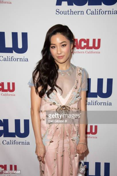 Constane Wu attends ACLU's Annual Bill Of Rights Dinner at the Beverly Wilshire Four Seasons Hotel on November 11 2018 in Beverly Hills California