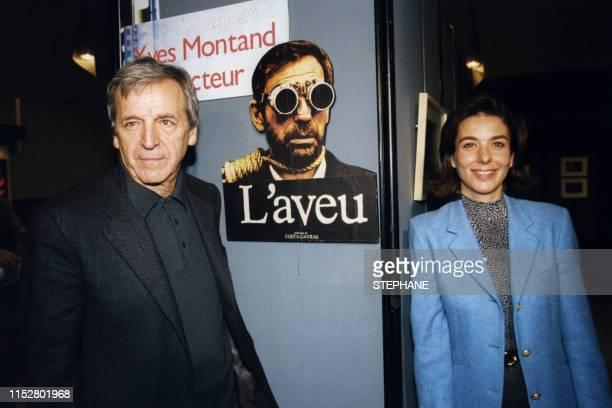 Constantin CostaGavras et Carole Amiel à Montpellier le 30 octobre 1999 France