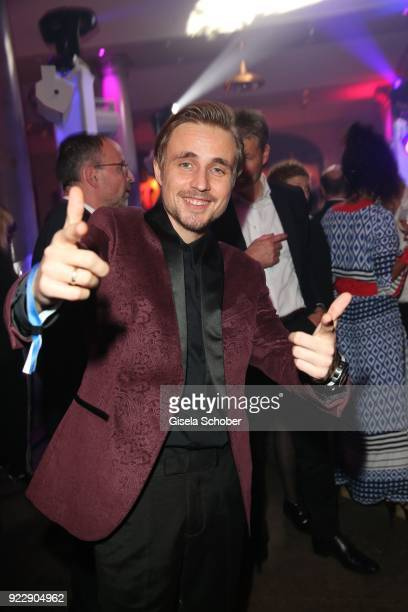 Constantin von Jascheroff during the BUNTE BMW Festival Night 2018 on the occasion of the 68th Berlinale International Film Festival Berlin at...