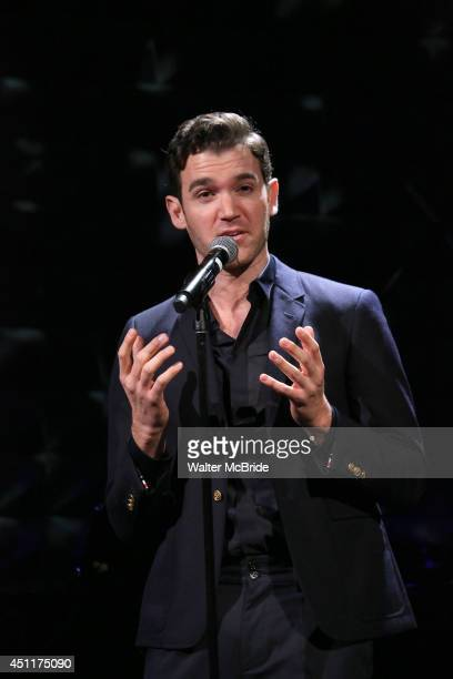Constantine Germanacos performing in 'The Lord The Master Broadwayworldcom sings Andrew Lloyd Webber Stephen Sondheim' at Joe's Pub on June 16 2014...