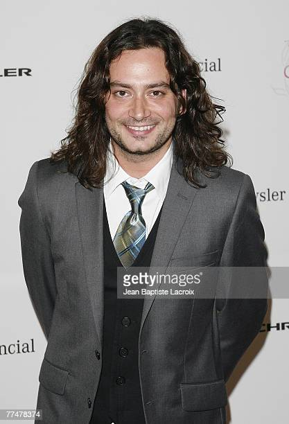 Constantine Maroulis arrives at the Lili Claire Foundation 10th annual benefit dinner and auction held at the Hyatt Regency Century Plaza on October...