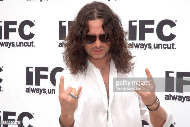 Constantine Maroulis attends IFC CELEBRATES SEASON 2 OF ROCK WITH AMERICA'S HOTTEST ROCKER MOM CONTEST at Madison Square Park on June 3 2009 in New...