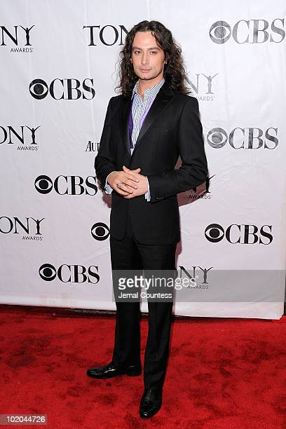 Constantine Maroulis attends the 64th Annual Tony Awards at Radio City Music Hall on June 13 2010 in New York City