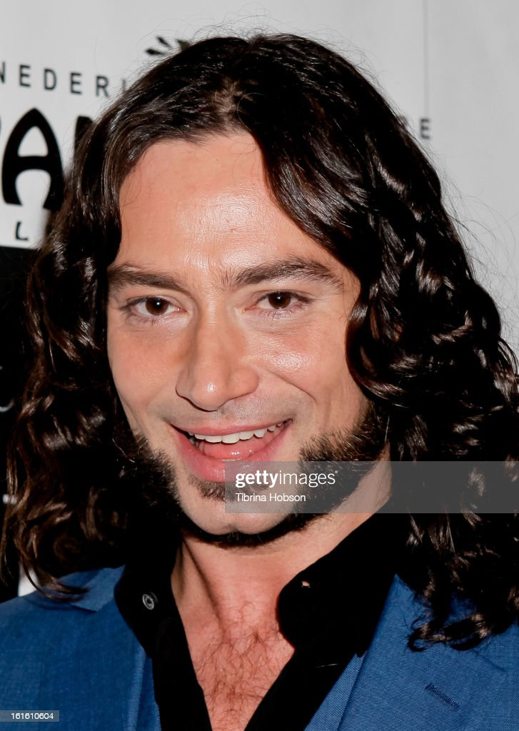 Constantine Maroulis attends the 'Jekyll & Hyde' Los Angeles play opening at the Pantages Theatre on February 12, 2013 in Hollywood, California.
