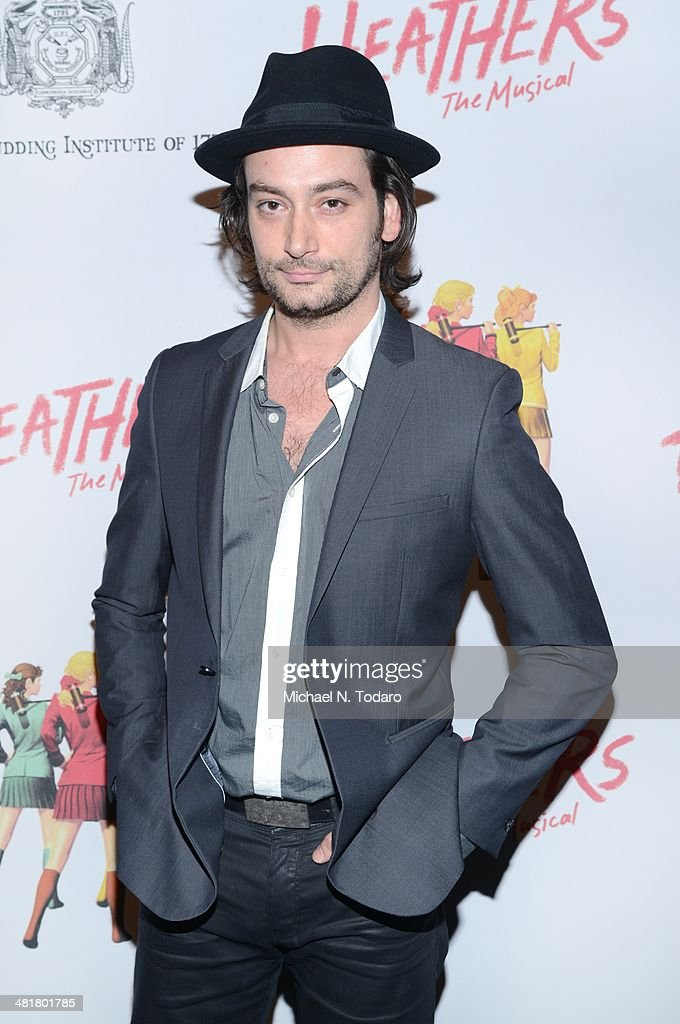 Constantine Maroulis attends the off Broadway opening night of 'Heathers The Musical' at New World Stages on March 31, 2014 in New York City.
