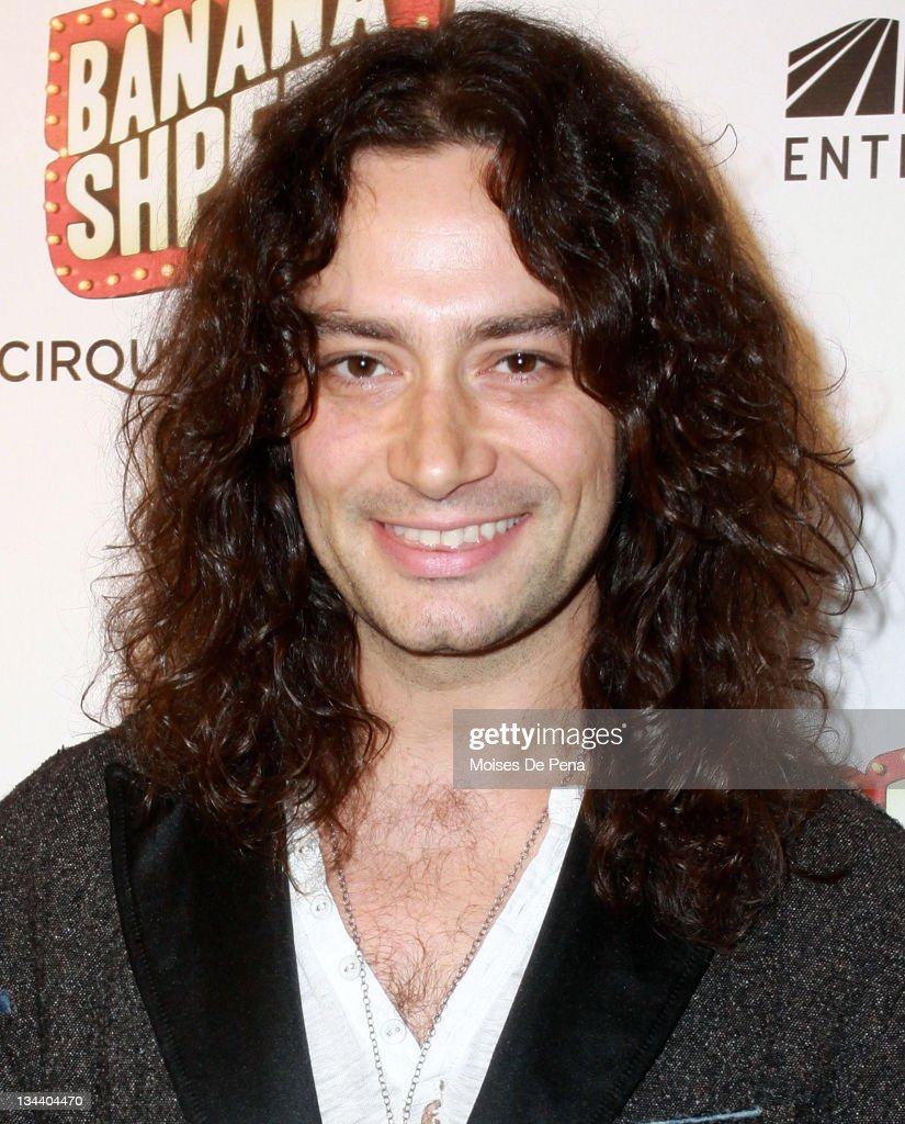 Constantine Maroulis attends the opening night of Cirque du Soleil's 'Banana Shpeel' at the Beacon Theatre on May 19, 2010 in New York City.