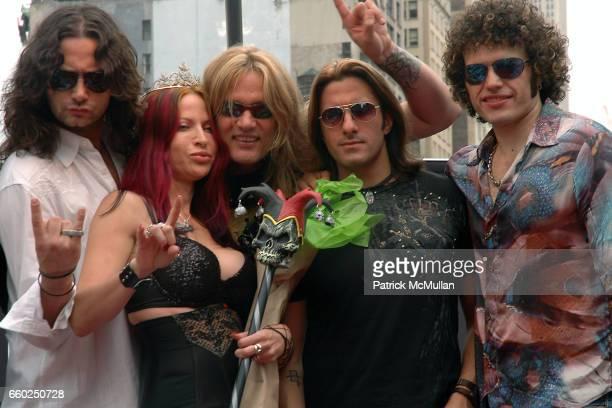 Constantine Maroulis Debra Diamont Sebastian Bach Joey Cassata and Paulie Z attend IFC CELEBRATES SEASON 2 OF ROCK WITH AMERICA'S HOTTEST ROCKER MOM...