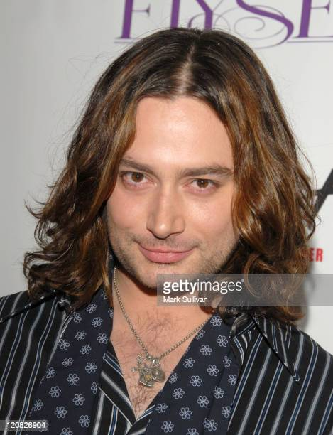 Constantine Maroulis during 'American Idol' Season 5 Launch Party in Los Angeles California United States
