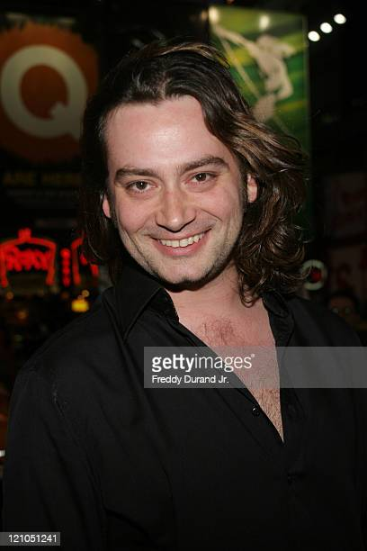 Constantine Maroulis during Broadway opening night of 'Lestat' arrivals at The Palace Theater in New York NY United States