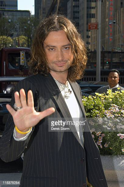 Constantine Maroulis during Constantine Maroulis in New York City May 3 2005 at Midtown in New York City New York United States