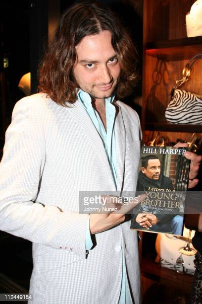Constantine Maroulis during Hill Harper Letter's to a Young Brother Educational Tour Launch Hosted by Abercrombie and Fitch at TBD in New York City...