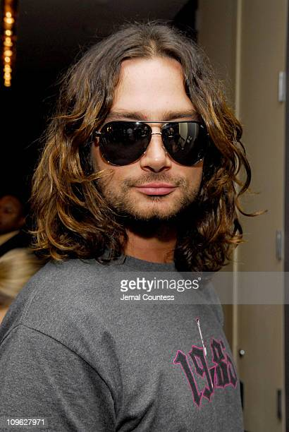 00892e3d07e Constantine Maroulis in Gucci 1827 s sunglasses during Solstice Sunglass  Boutique and Safilo USA at