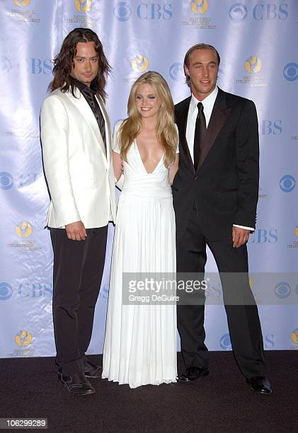 Constantine Maroulis Mackenzie Mauzy and Kyle Lowder f 'the Bold and the Beautiful presenters
