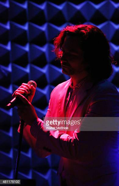 Constantine Maroulis performing in 'The Lord The Master Broadwayworldcom sings Andrew Lloyd Webber Stephen Sondheim' at Joe's Pub on June 16 2014 in...