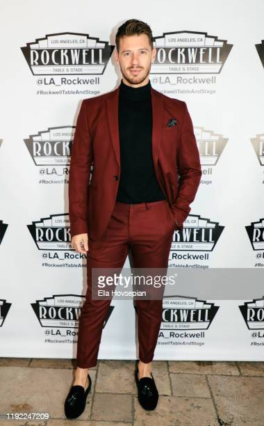 Constantine Rousouli attends A Molly Jolly Christmas at Rockwell Table and Stage on December 05 2019 in Los Angeles California