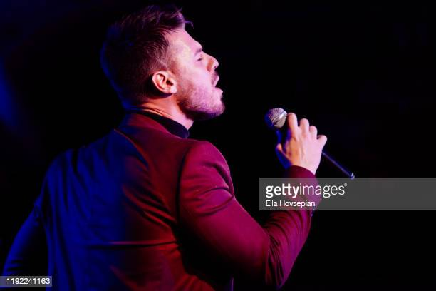 Constantine Rousouli performs at Rockwell Table and Stage on December 05 2019 in Los Angeles California