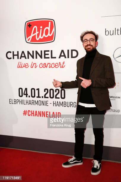 Constantino Carrara during the Channel Aid Live in concert at Elbphilharmonie on January 4 2020 in Hamburg Germany