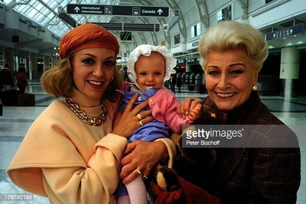 """Constanze Engelbrecht mit Winnie Markus,;ZDF-TV-Special """"Wiedersehen in Kanada"""", Schauspielerin, Promis, Prominente, Prominenter,"""