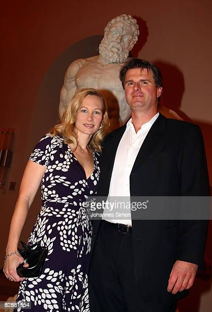 Constanze HausmannStoiber and Juergen Hausmann attend the 'Fabulous Celebration' at Nymphenburg Castle on September 18 2008 in Munich Germany French...