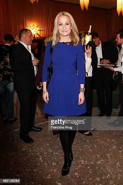 Constanze Rick attends the Bulgari Diva Cinema Night on February 10 2015 in Berlin Germany