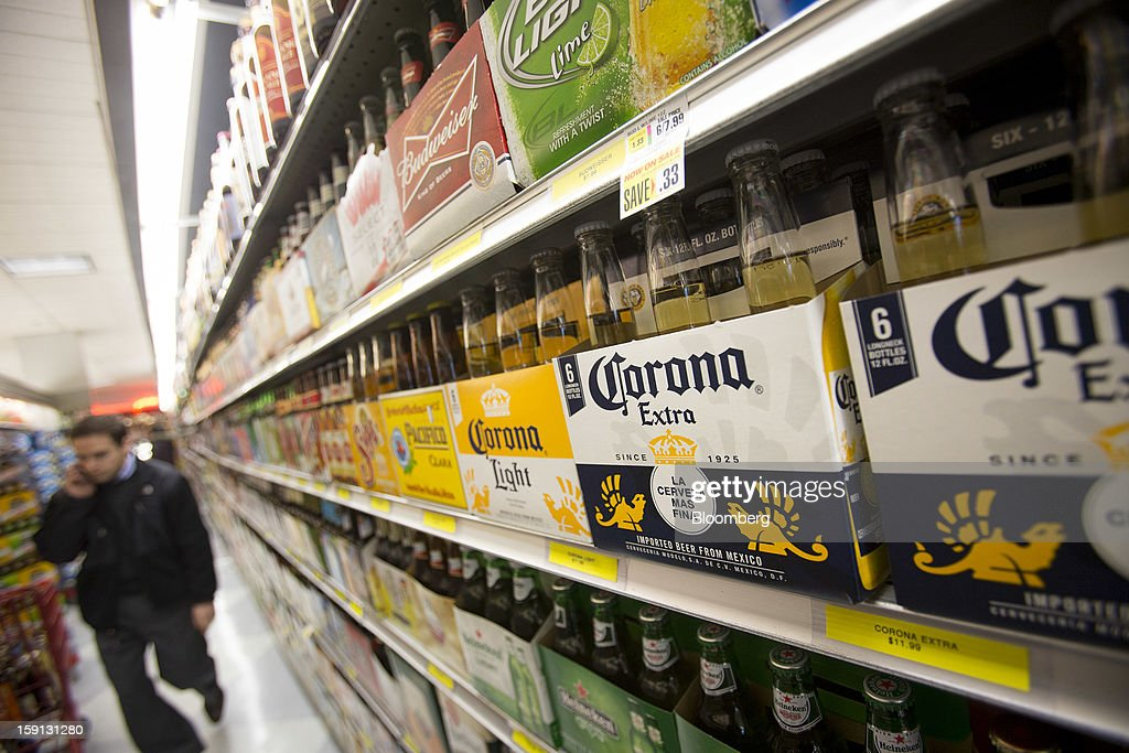 Views Of Constellation Brands Inc. Products Including Corona Extra, Modelo Especial & Pacifico Ahead Of Earns Figures